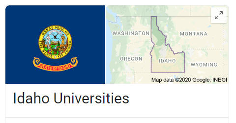 List of Idaho Universities