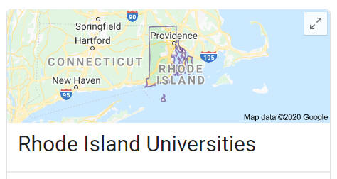 List of Rhode Island Universities