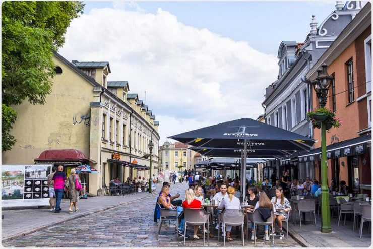 the Old Town (Vilniaus gatvė)