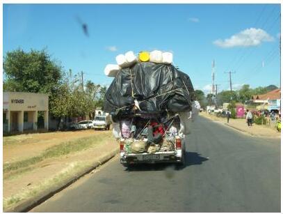 Long-distance transport in Malawi