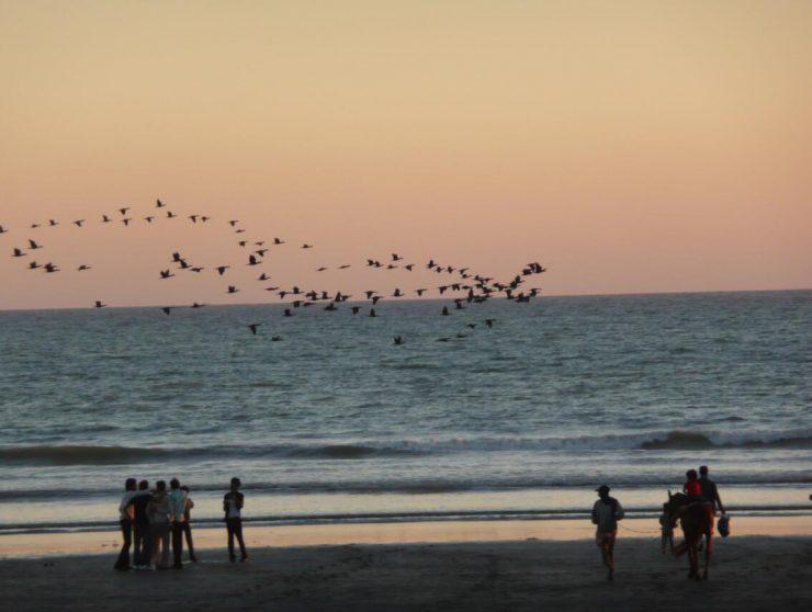 Evening mood at Clifton Beach Pakistan