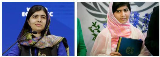 Malala Yousufzai in Pakistan
