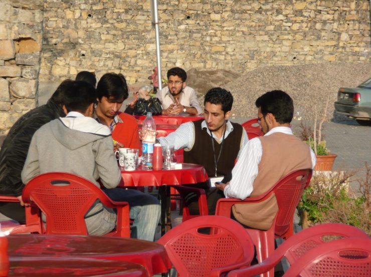 Pakistan Men among themselves