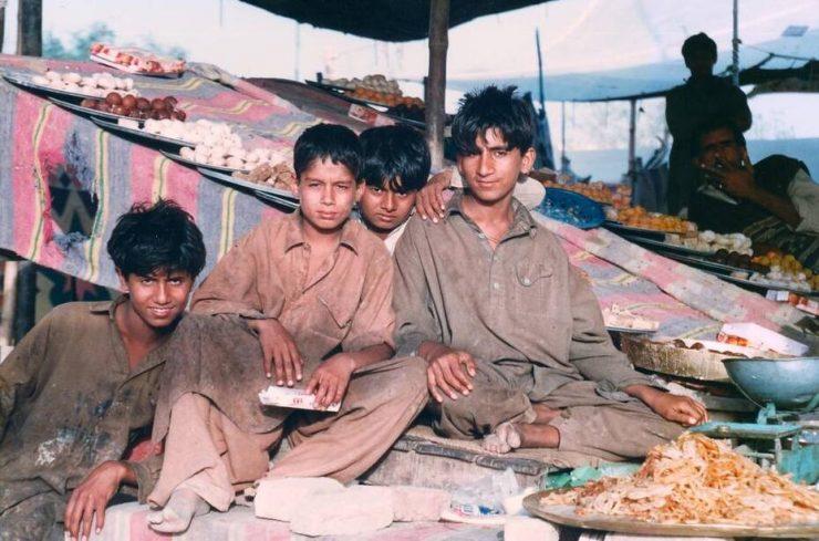 Pakistan's youth in the bazaar