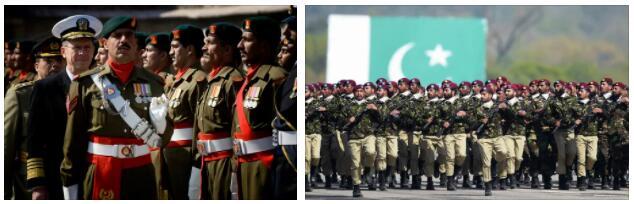 The Pakistani military