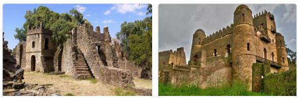 Fortified City of Fasil Ghebbi (World Heritage)