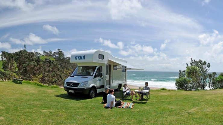 New Zealand in Luxury Camps